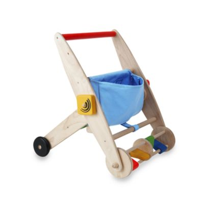 Plan Toys® Push N' Pull Activity Cart