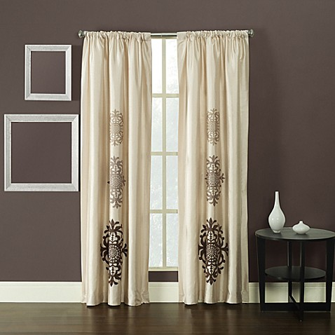 Kas Mirage 108-Inch Window Curtain Panel in Ivory