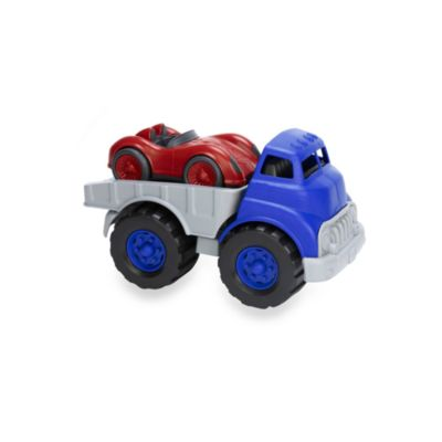 Green Toys® Flatbed Truck & Race Car