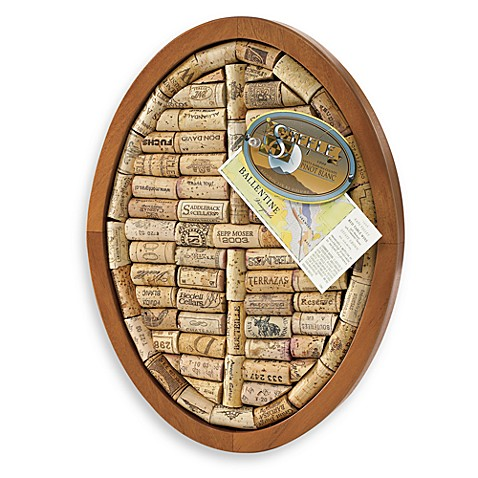 Wine Enthusiast Oval Wine Cork Trivet Kit