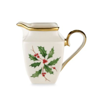 Lenox® Holiday™ Square Creamer