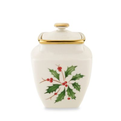 Lenox® Holiday™ Square Sugar Bowl