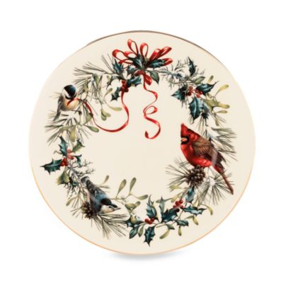 Lenox® Winter Greetings® 10 3/4-Inch Dinner Plate
