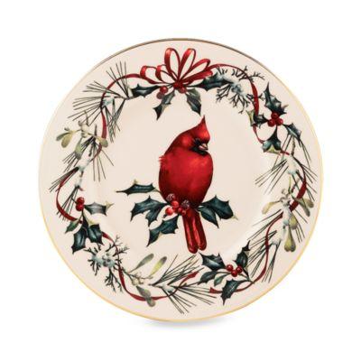 Lenox® Winter Greetings® Cardinal Accent Plate