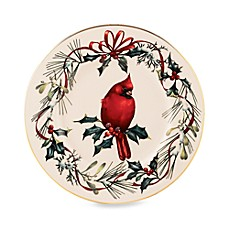 Lenox® Winter Greetings® Cardinal Accent Plate