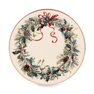 Lenox® Winter Greetings® 6 1/2-Inch Bread and Butter Plate