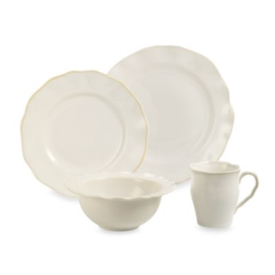 Lenox Organics White 4-Piece Place Setting