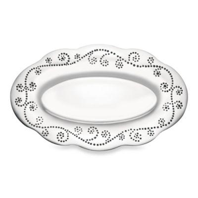 Lenox® French Perle Bread Tray