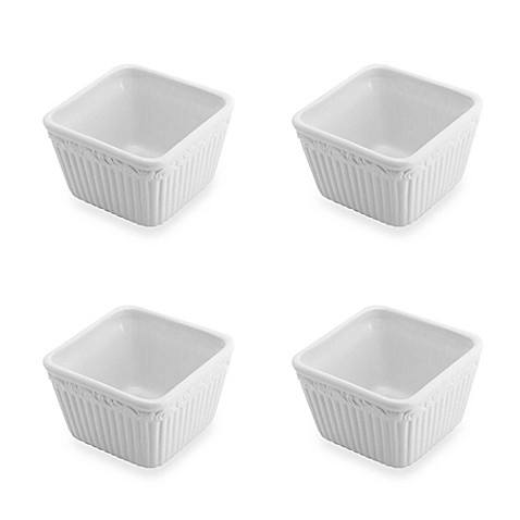 Mikasa® Italian Countryside Square Dip Bowl (Set of 4)