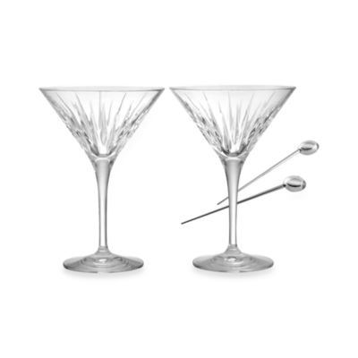 Reed & Barton® Soho Martini Glasses (Set of 2)