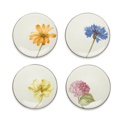 Noritake® Colorwave Chocolate 6 1/4-Inch Appetizer Plates (Set of 4)