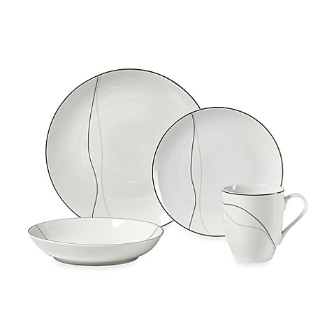 Mikasa® Threads Modern 4-Piece Place Setting