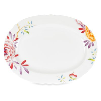 Spode® Lucia Floral 15-Inch Oval Platter