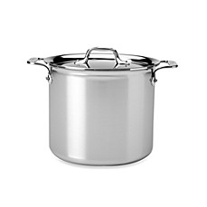 All-Clad Stainless Steel 7-Quart Covered Stock Pot