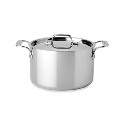 All-Clad Stainless Steel 4-Quart Covered Casserole