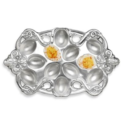 Arthur Court Designs Fleur-De-Lis Deviled Egg Holder