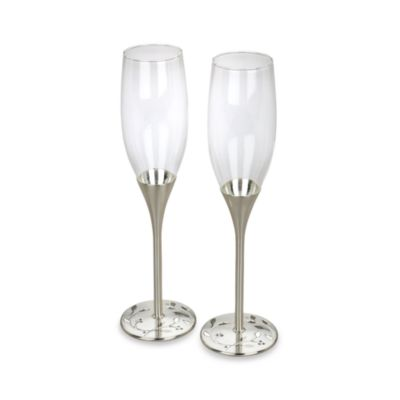 Shimmer Toasting Flutes (Set of 2)