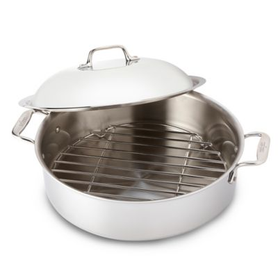 All-Clad Stainless Steel Covered French Braisers