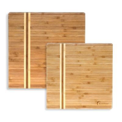 Earthchef® Professional Bamboo Square Chopping Board