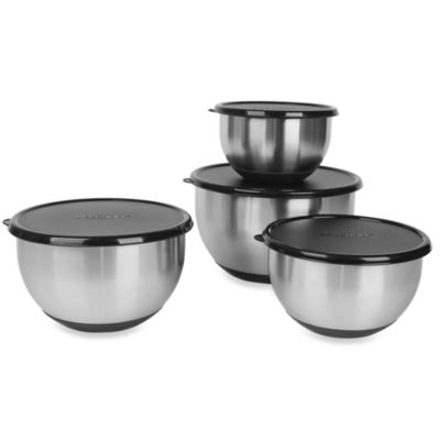 BergHOFF® Geminis 8-Piece Mixing Bowl Set