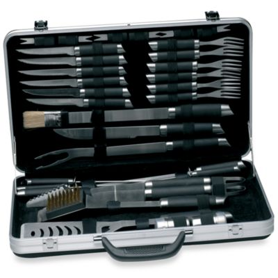 BergHOFF® Geminis 33-Piece Barbecue Set with Case