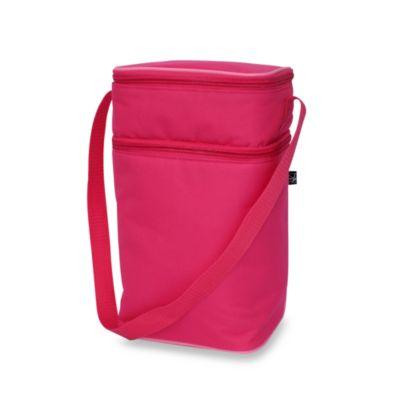 Bright Pink Bottle Cooler