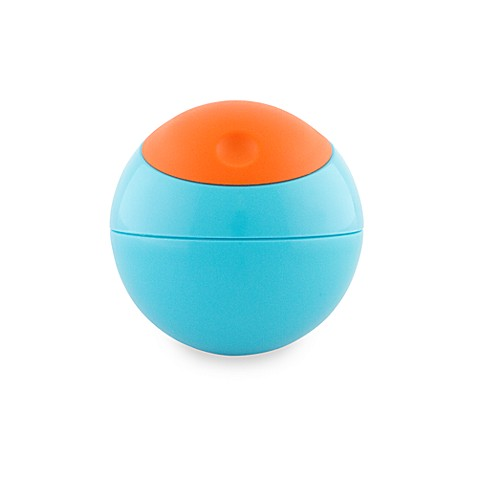 Boon Snack Ball BPA Free Snack Container - Blue/Orange
