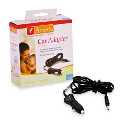 Ameda Purely Yours Breastpump Car Adapter