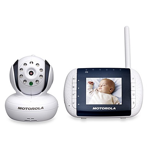 Motorola® MBP33 Digital Video Baby Monitor with 2.8-Inch Color LCD Screen