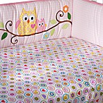 Dena Happi Tree Fitted Crib Sheet
