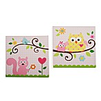 Dena Happi Tree 2-Piece Canvas Wall Art Set