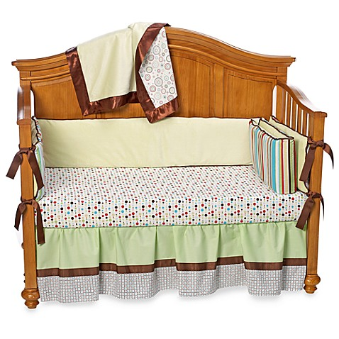 Caden Lane Classic Collection Print Crib Sheet