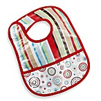 Caden Lane® Classic Collection Coated Bib in Red Stripe
