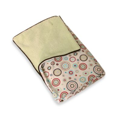 Caden Lane® Classic Collection Blanket in Red Circle Dot