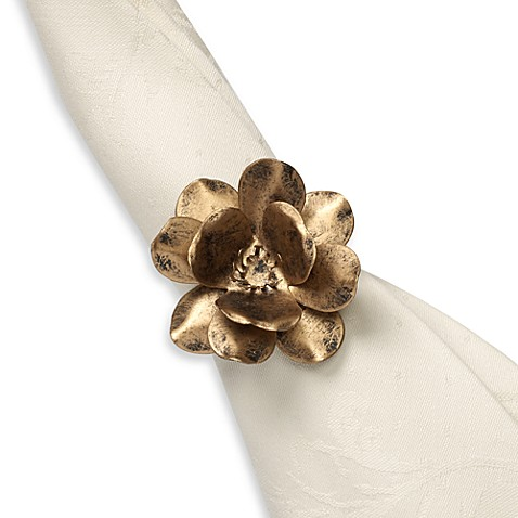 Rose Garden Napkin Ring