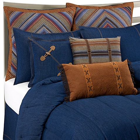 denim blue bed skirt bed bath beyond