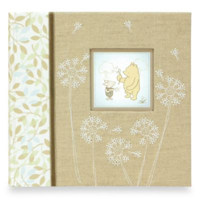 C.R. Gibson® Winnie the Pooh Baby Memory Books Photo Album