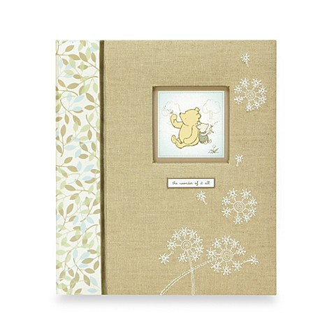 C.R. Gibson® Winnie the Pooh Loose-Leaf Baby Memory Book
