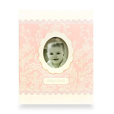 C.R. Gibson Hannah Baby Memory Books - Memory Baby Book