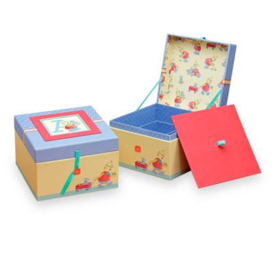 C.R. Gibson® Robots Baby Memory Books in Keepsake Chest