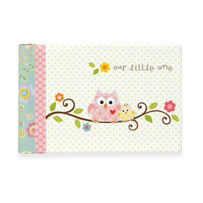 C.R. Gibson Happy Girl Baby Memory Books > CR Gibson® Happy Girl Baby Memory Books in Grandma's Brag Book
