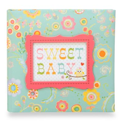 C.R. Gibson® Happy Girl Baby Memory Books in Journal/Photo Album