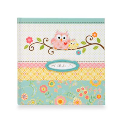 C.R. Gibson® Happy Girl Baby Memory Books in Slim Photo Album
