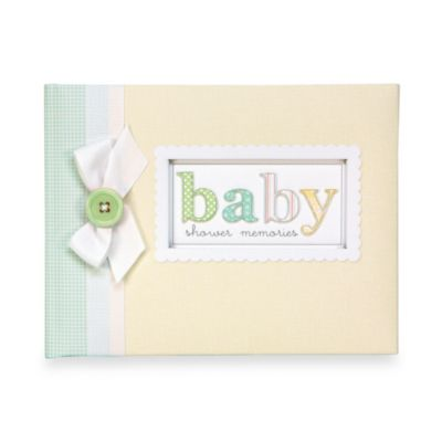 C.R. Gibson® Baby Shower Keepsake Memory Book