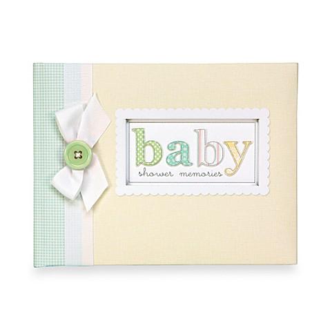 C R Gibson Baby Shower Keepsake Memory Book Www