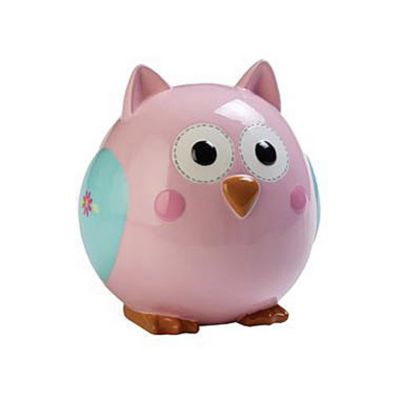 C.R. Gibson® Happy Girl Ceramic Piggy Bank