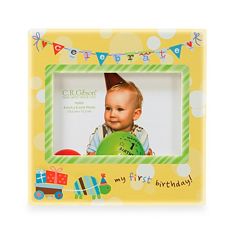 C.R. Gibson® 1st Birthday Photo Frame