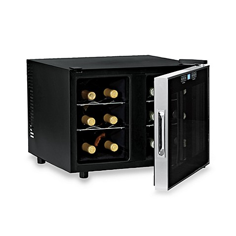 Wine Enthusiast Silent 12-Bottle Dual Zone Touchscreen Wine Refrigerator