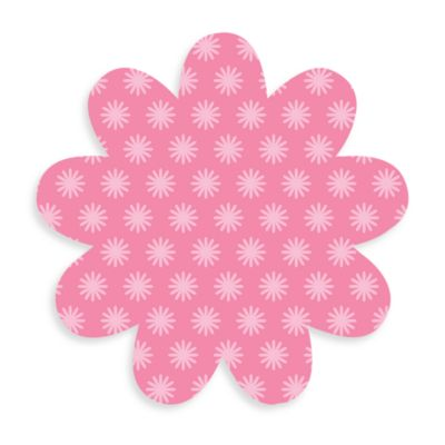 WallPops!® Removable Pink Dry Erase Message Boards and Marker in Pink Daisy