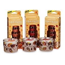 Yankee Candle® QuickScent™ Fall Food Fragrances Quick Melting Candles
